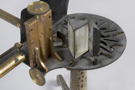 Spectroscope, made by Adam Hilger, 1876