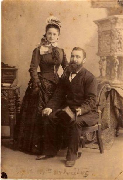 William and Eliza Bayldon