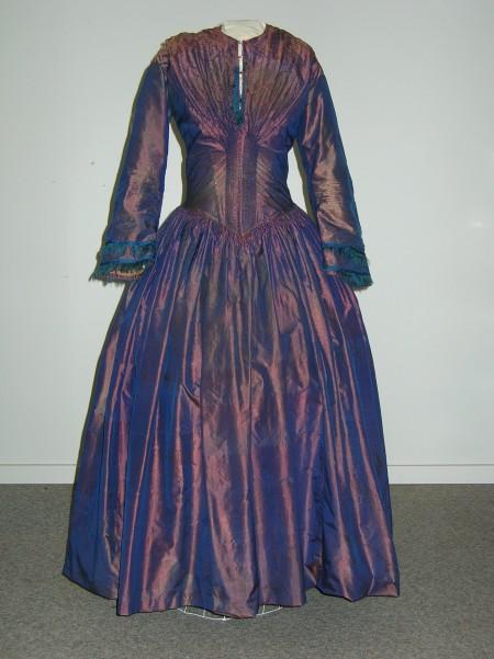 Mary Ann Moore's 1855 wedding dress