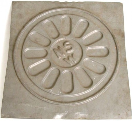 Moulding for an interior railway carriage ventilator
