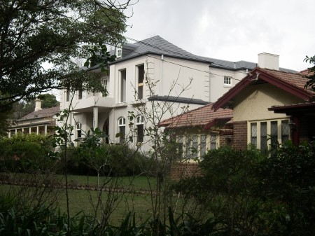 New old houses in the surburb of Strathfield