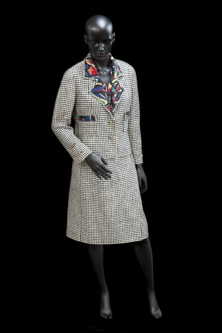 Chanel suit with Jenny Kee's lining