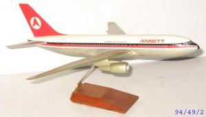 Model of Ansett Plane
