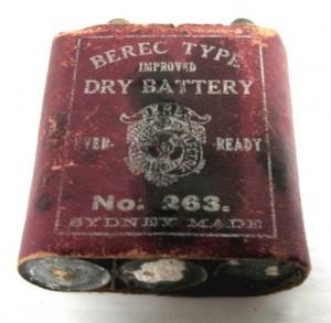 Rusty Berec Type Dry Battery