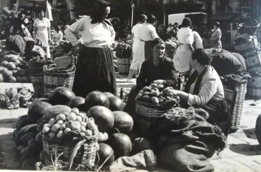 Market, Spain, Geoffrey and Dahl Collings, 1936