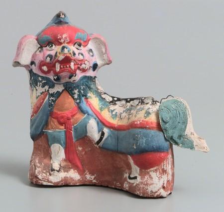 Colourful ceramic Dragon or lion