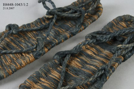 Woven Japanese Waraji Sandals