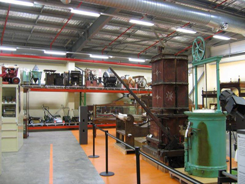 Open Storage Displays, Powerhouse Discovery Centre, Castle Hill, Sydney
