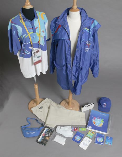 Sydney 2000 Olympic Games volunteers uniform