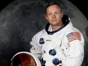 Neil Armstrong's official Apollo 11 astronaut portrait
