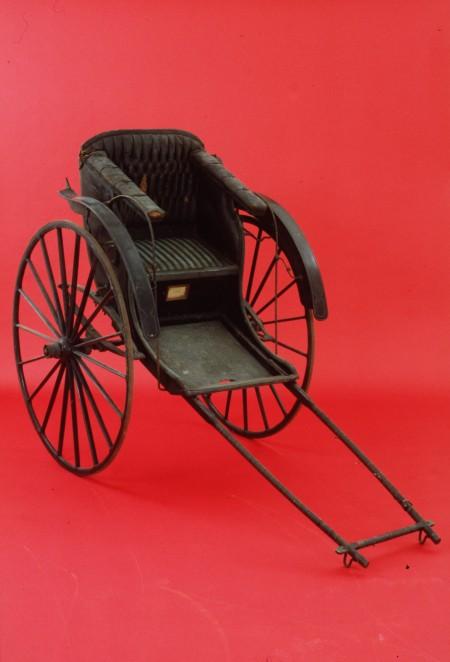 Japanese rickshaw made 1880-1892