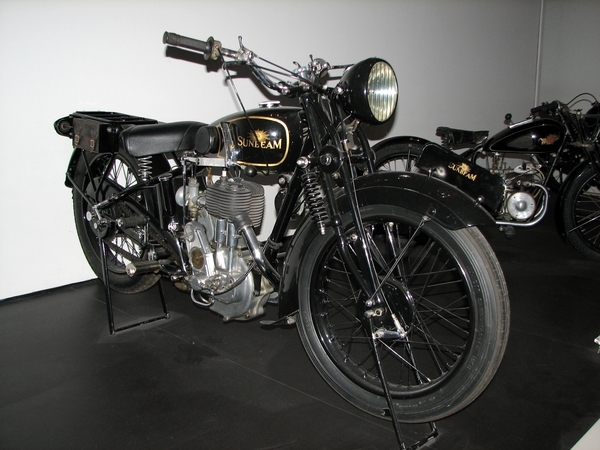 'Sunbeam' touring motorcycle