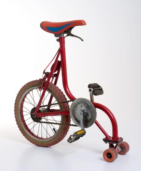 Red skate bike 1984-1986