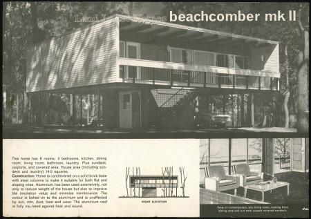Beachcomber Mark 11 Lend Lease Homes brochure, 1964
