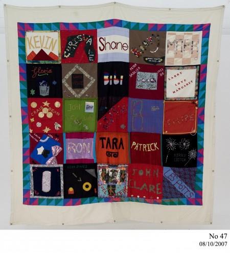 Australian AIDS Memorial Quilt, No. 47 2007