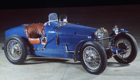 Type 37A Blue Grand Prix Bugatti