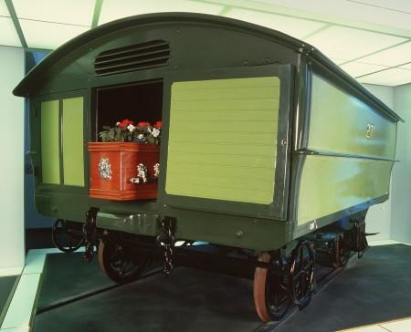 Tram hearse trailer, No. 27S