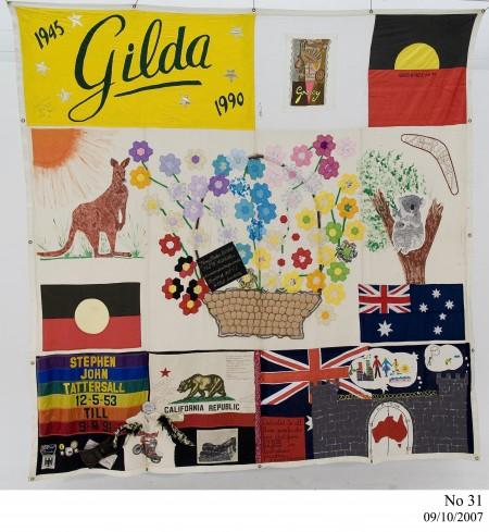 Australian AIDS Memorial Quilt, No. 31 2007