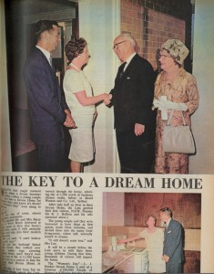 'The Key to a Dream Home' Magazine article