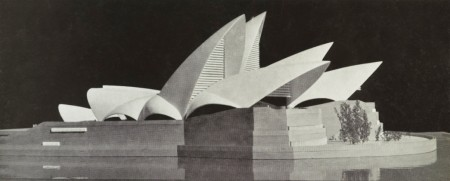 Architectural model of Opera House