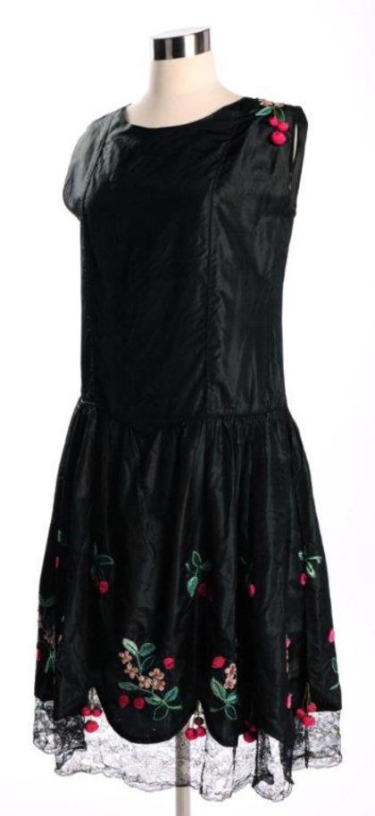 Photograph of Gillett Sister's Charleston Dress
