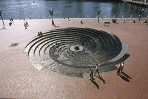 Photograph Water Spiral by Robert Woodward