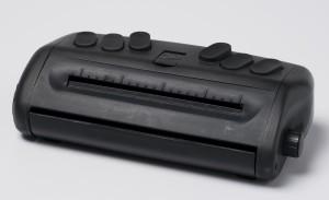 Prototype 'Jot A Dot' portable Braille writer