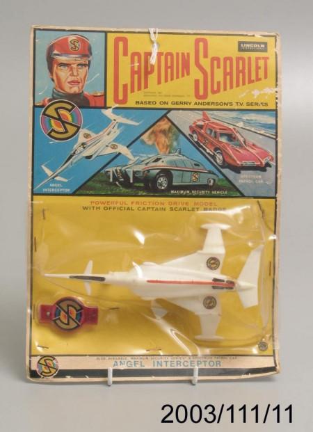 Captain Scarlet plastic aircraft model