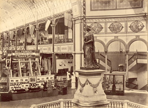 Photograph of The North Nave 1879