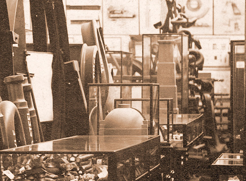 Photograph of interior Technological Museum 1980