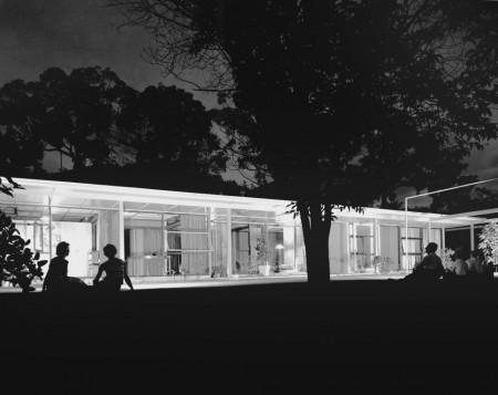 Photograph Sydney Ancher house, Neutral Bay, 1958