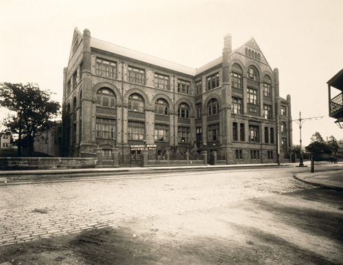 Photograph of Technological Museum 1895