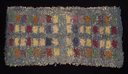 Photograph of Rag rug