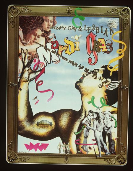 Photograph of Sydney Gay Mardi Gras Poster 1993