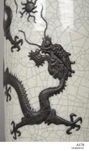 Photograph of dragon vessel
