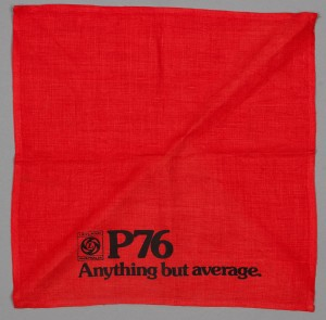 Leyland P76 promotional serviette