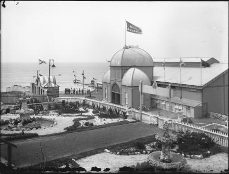 Photograph of Bondi Aquarium about 1891