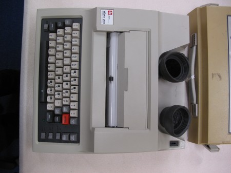 Photograph of Texas Instruments Silent 700