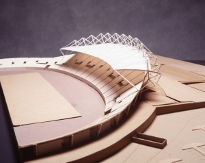 Model, National Athletics Stadium