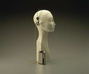 Photograph of Cochlear implant made by Nucleus Ltd