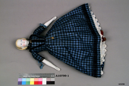 Photograph of Doll in dress