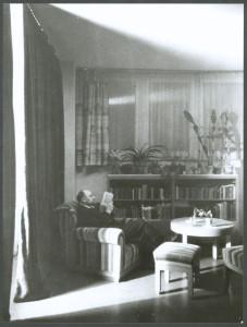 Adolf Lazi self-portrait