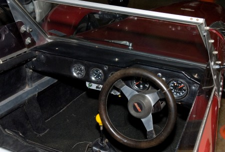 Photograph of Dashboard of the Nota Fang