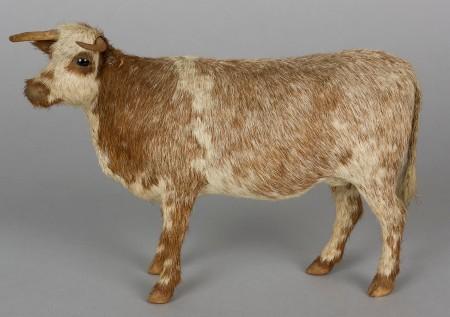 Model wax cow