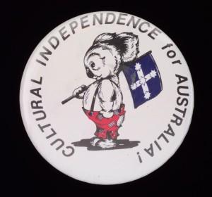 Badge in favour of Australian Republic 1994