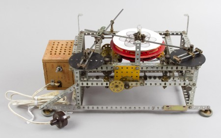 Photograph of Meccano spirograph