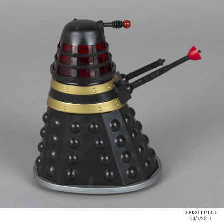 Photograph of 'The Mysterious Daleks' toy