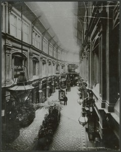 Photograph of Royal Arcade, Sydney about 1893