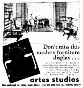 Artes Studios advertisement
