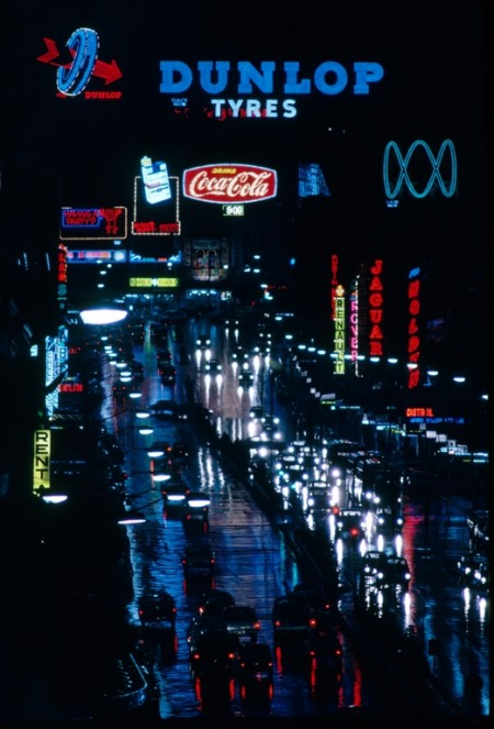Photograph of William Street, Sydney about 1968